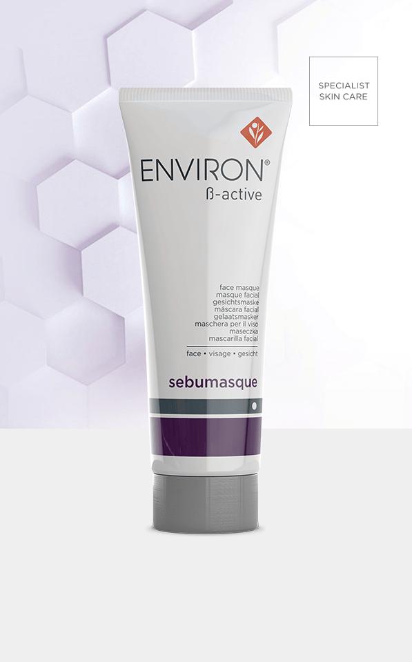 B Active Range Sebumasque product Environ Skin Care