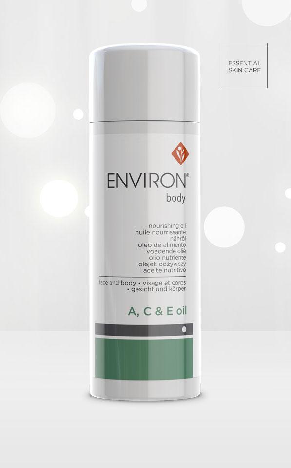 Environ Skin Care Body Range A C E Oil