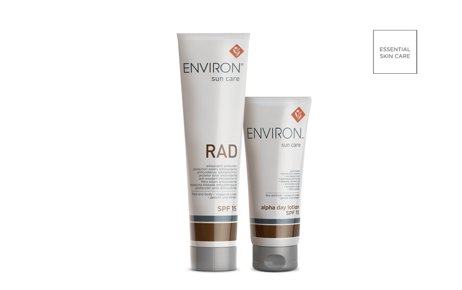 Environ Skin Care Sun Care Range