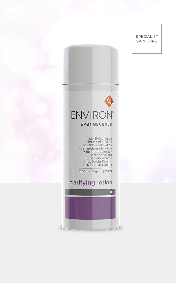 Evenescence Range CLARIFYING LOTION product Environ Skin Care