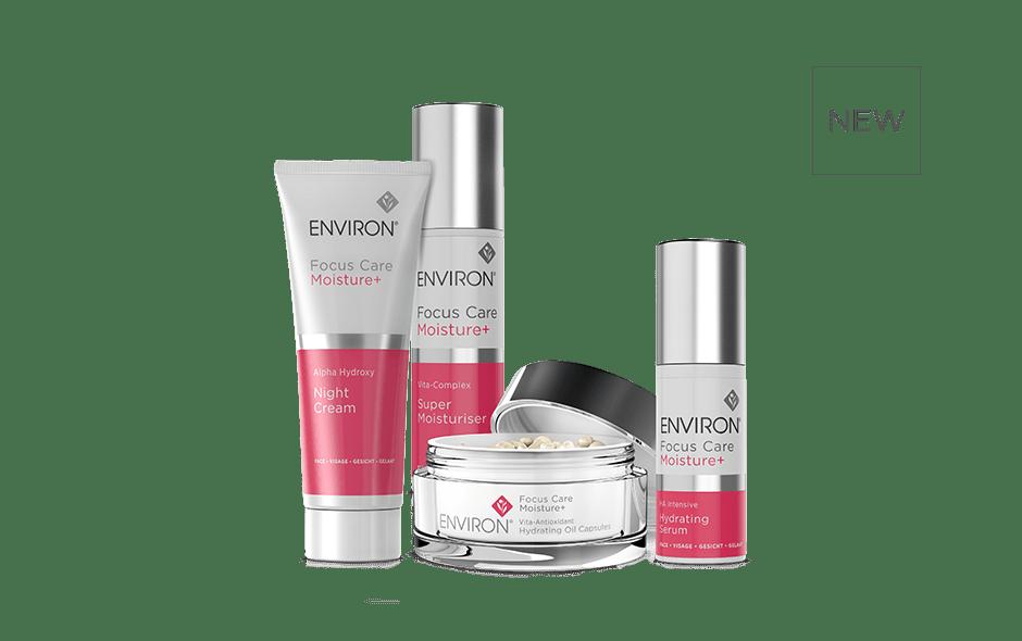 Focus Care Moisture Plus Range Environ Skin Care