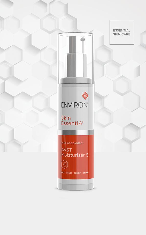 Skin Essentia Product Vita Antioxidant AVST Moisturiser 5 Environ Skin Care